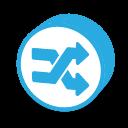 button-round-random-icon